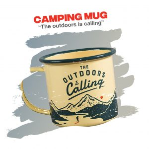 Outdoor Adventure Camping Travel Mug