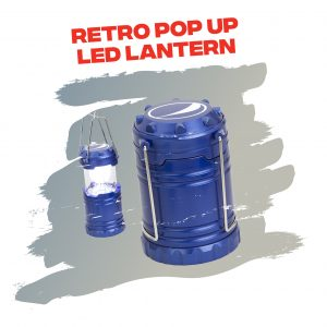 Retro Pop Up LED Lantern