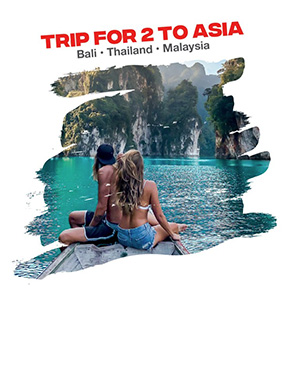 Grand Prize Trips to Asia